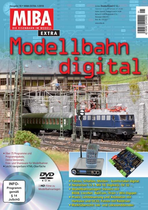 MIBA Extra: Modellbahn digital 18