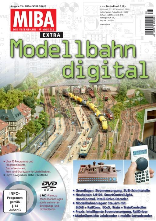 MIBA Extra: Modellbahn digital 19