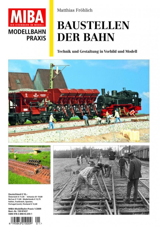 MIBA Modellbahn Praxis: Baustellen der Bahn