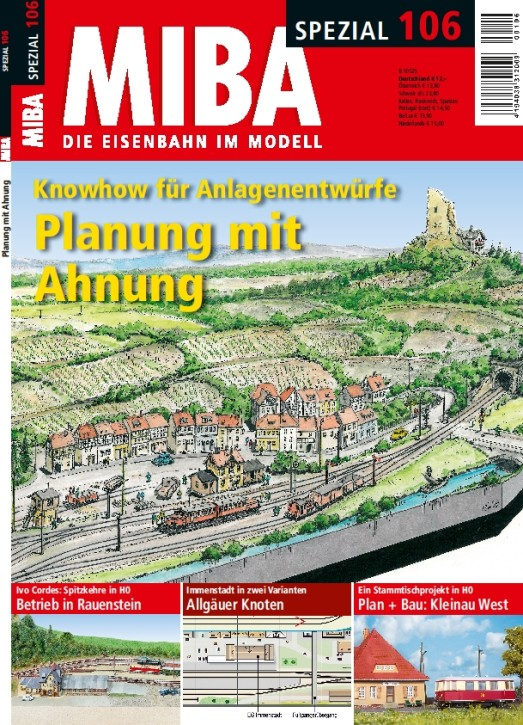 MIBA-Spezial 106: Planung mit Ahnung