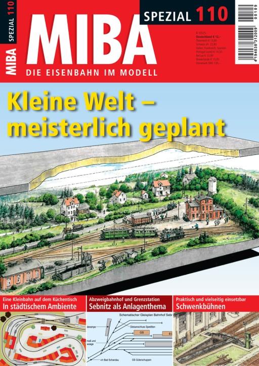 MIBA-Spezial 110: Kleine Welt – meisterlich geplant