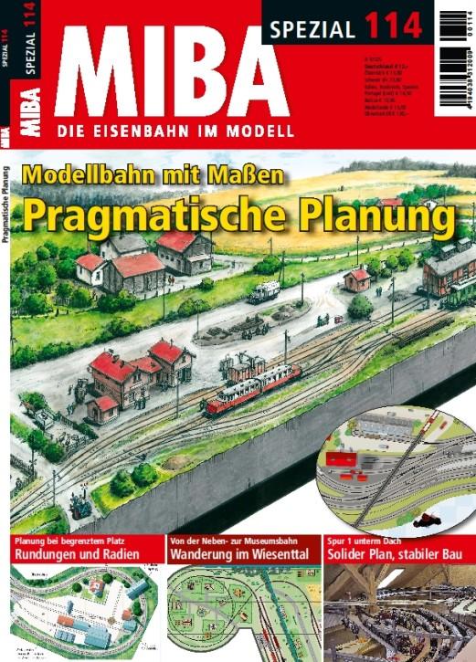 MIBA-Spezial 114: Modellbahn mit Maßen: Pragmatische Planung