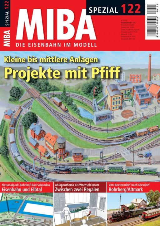 MIBA-Spezial 122: Projekte mit Pfiff. Kleine bis mittlere Anlagen
