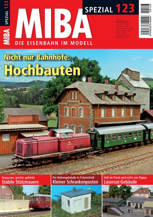 MIBA Spezial 123: Nicht nur Bahnhöfe: Hochbauten