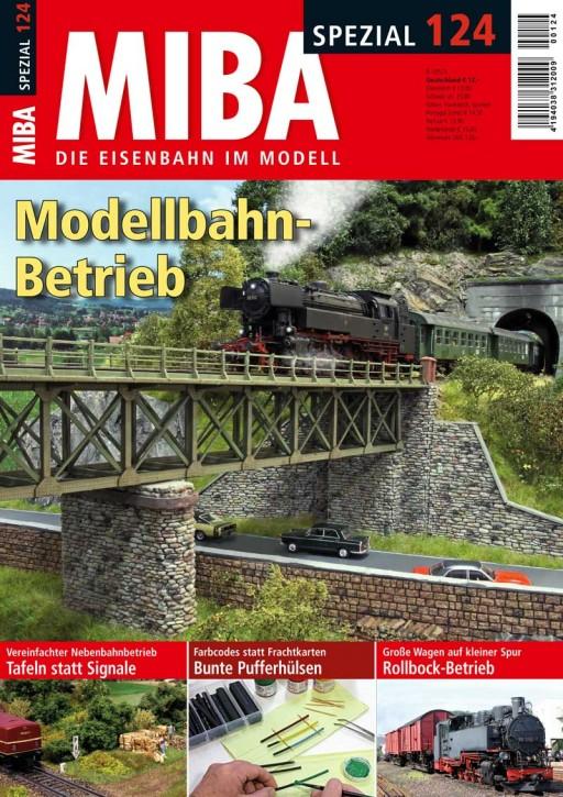 MIBA Spezial 124: Modellbahn-Betrieb