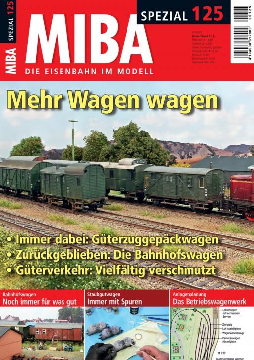 MIBA-Spezial 125: Mehr Wagen wagen