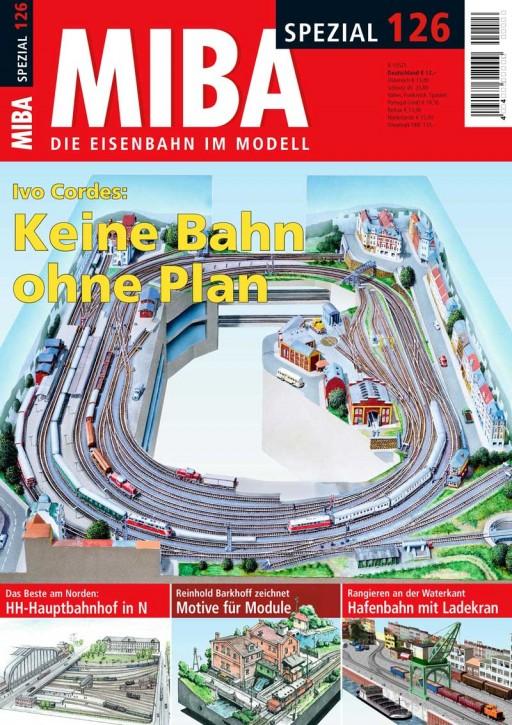 MIBA-Spezial 126: Keine Bahn ohne Plan