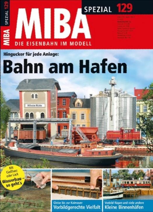 MIBA-Spezial 129: Bahn am Hafen