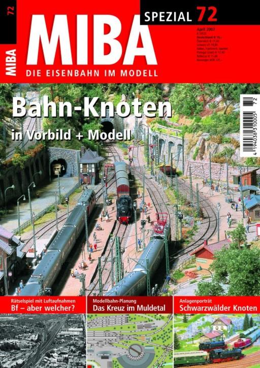MIBA-SPEZIAL 72: Bahn-Knoten