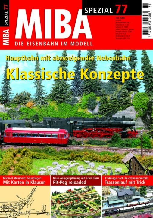 MIBA-SPEZIAL 77: Pläne nach klassischem Konzept