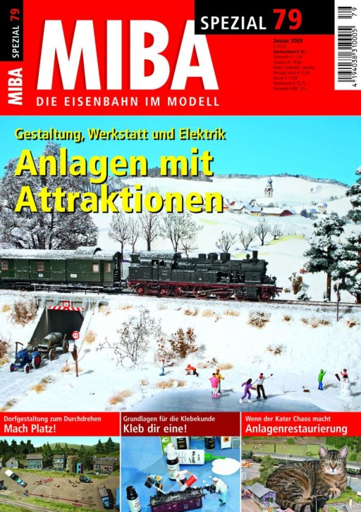 MIBA-SPEZIAL 79: Anlagen mit Attraktionen. Gestaltung, Werkstatt, Elektrik