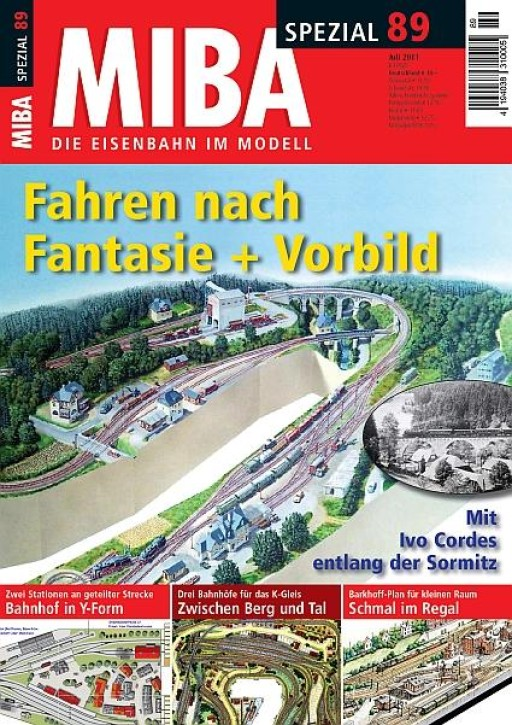 MIBA-Spezial 89: Fahren nach Fantasie + Vorbild