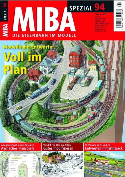 MIBA-Spezial 94: Modellbahn-Entwürfe - Voll im Plan