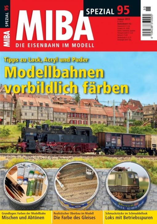MIBA-Spezial 95: Modellbahnen vorbildlich färben