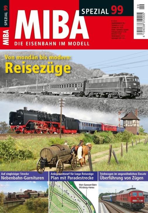 MIBA-Spezial 99: Von mondän bis modern: Reisezüge
