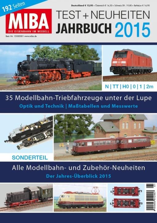 MIBA Test- und Neuheiten-Jahrbuch 2015