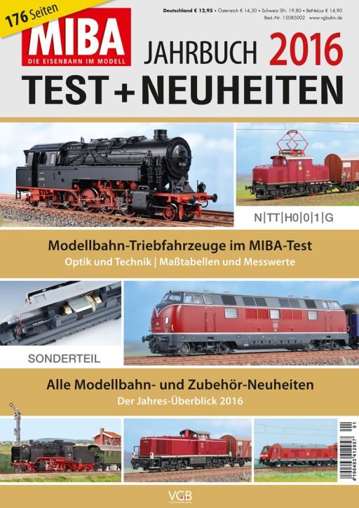 MIBA Test- und Neuheiten-Jahrbuch 2016
