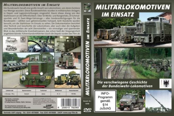 DVD: Militärlokomotiven im Einsatz. Die verschwiegene Geschichte der Bundeswehr-Loks