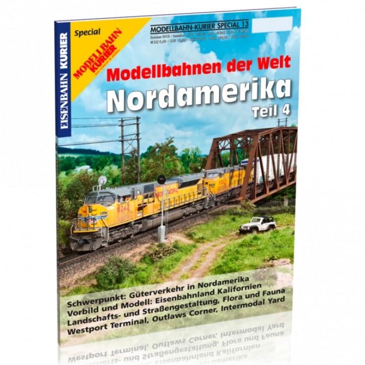 Modellbahn-Kurier Special 13. Modellbahnen der Welt: Nordamerika 4