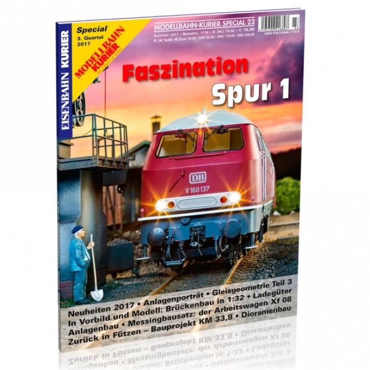 Modellbahn-Kurier Special 23: Faszination Spur 1 Teil 5