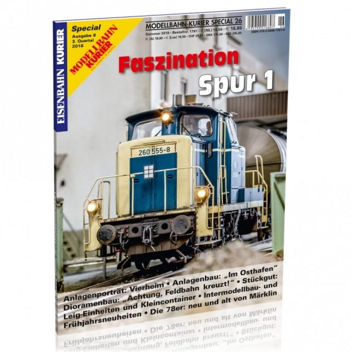 Modellbahn-Kurier Special 26: Faszination Spur 1 Teil 8