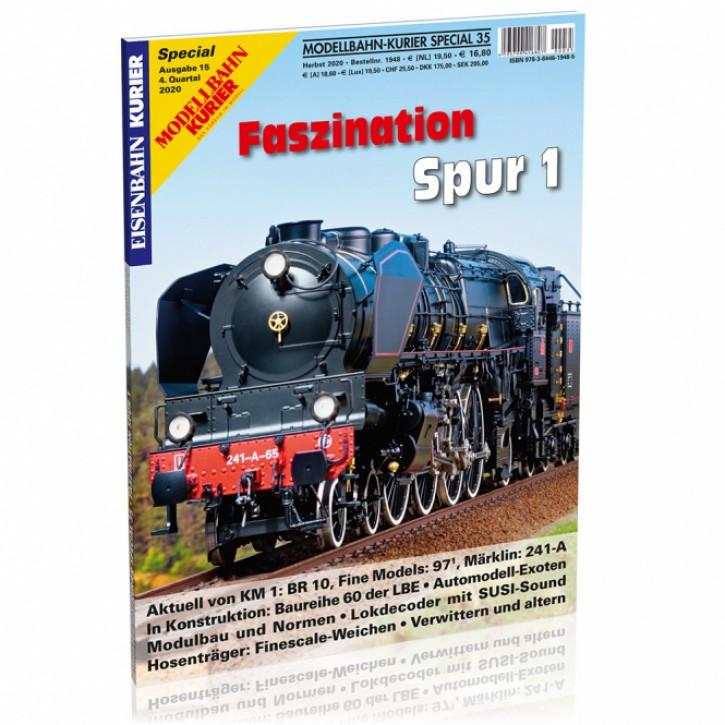 Modellbahn-Kurier Special 35: Faszination Spur 1 Teil 15