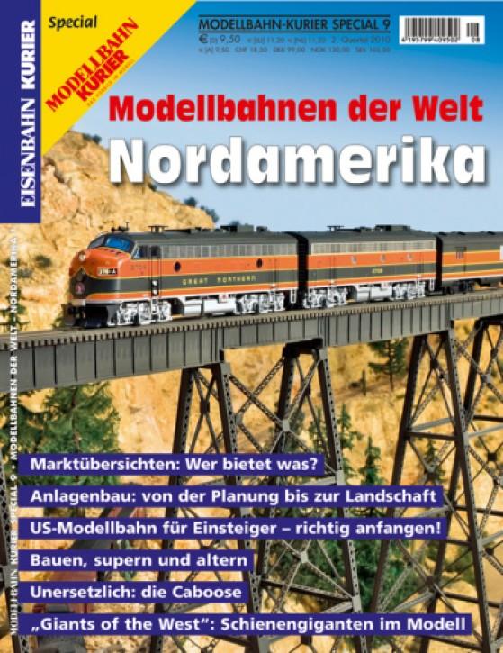 Modellbahn-Kurier Special 9: Modellbahnen der Welt. Nordamerika