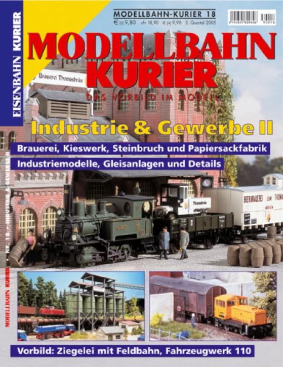Modellbahn-Kurier 18: Industrie & Gewerbe 2