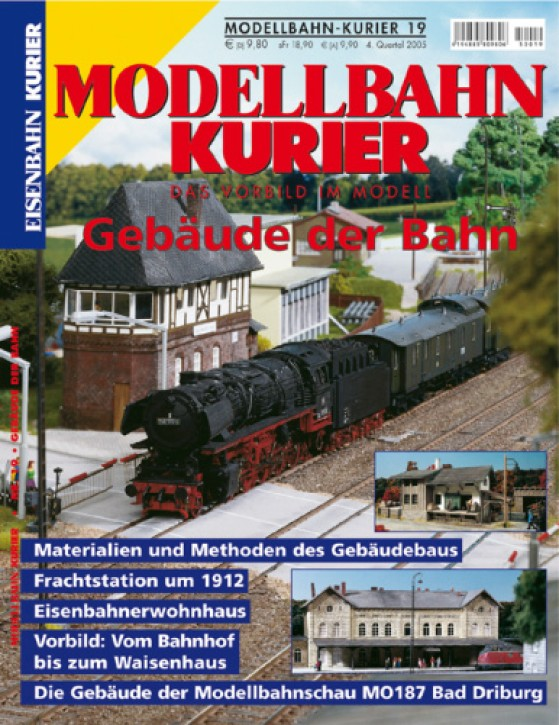 Modellbahn-Kurier 19: Gebäude der Bahn
