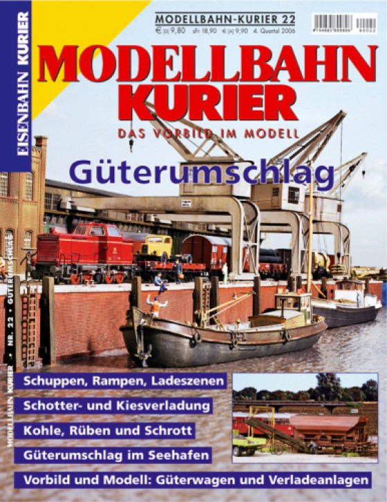 Modellbahn-Kurier 22: Güterumschlag