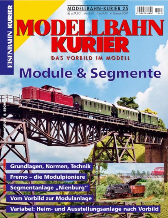 Modellbahn-Kurier 25: Module und Segmente
