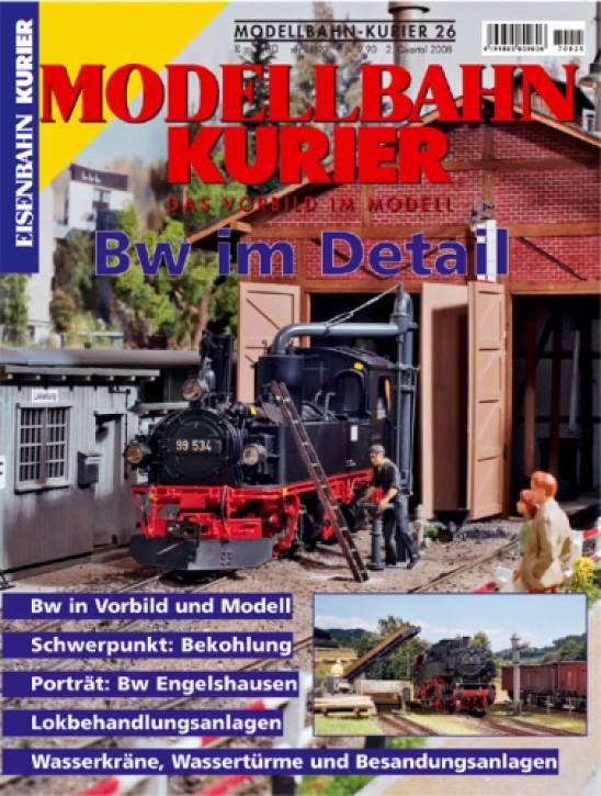 Modellbahn-Kurier 26: Bw im Detail