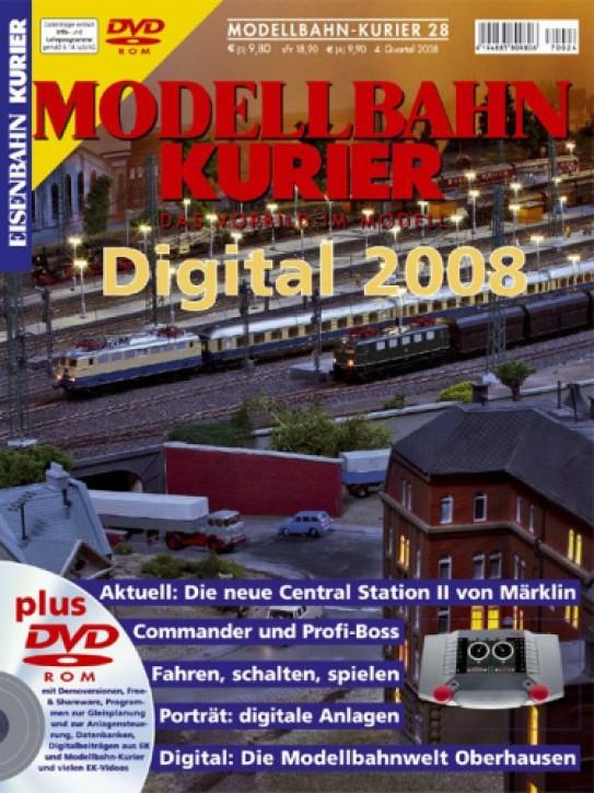 Modellbahn-Kurier 28: Digital 2008