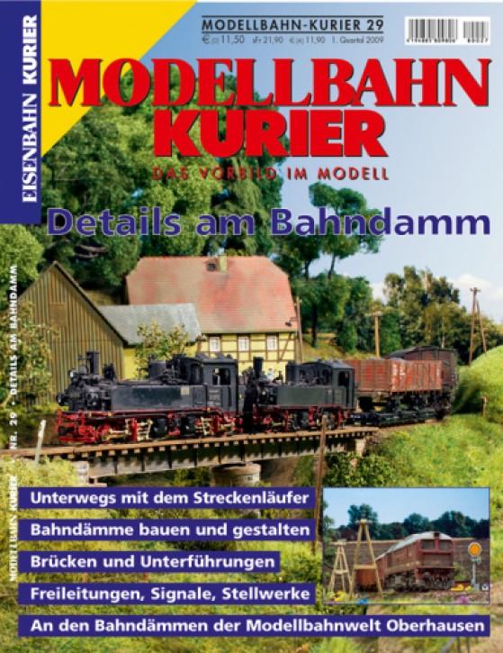 Modellbahn-Kurier 29: Details am Bahndamm