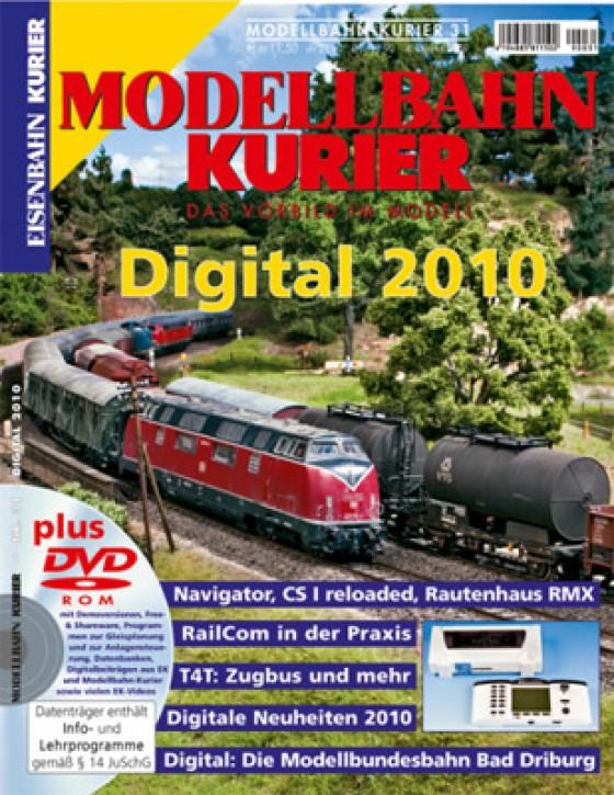Modellbahn-Kurier 31: Digital 2010