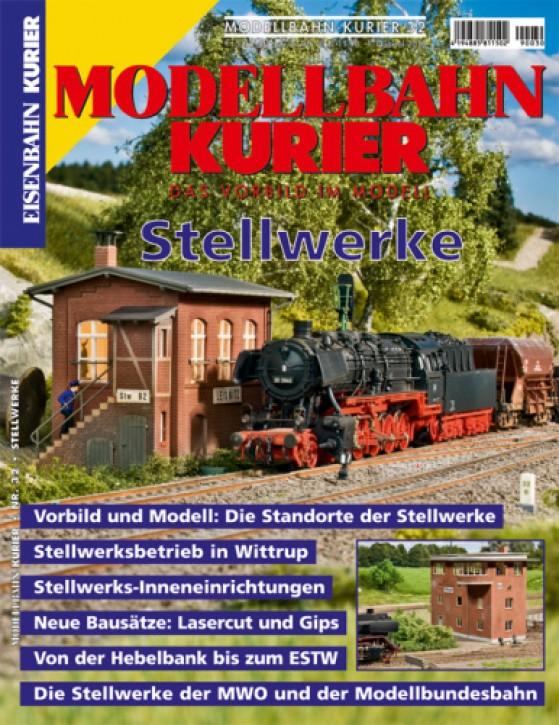Modellbahn-Kurier 32: Stellwerke