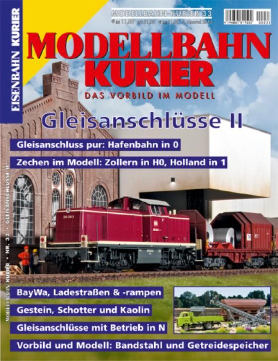 Modellbahn-Kurier 33: Gleisanschlüsse II