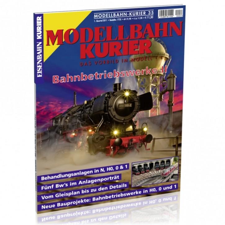 Modellbahn-Kurier 35: Bahnbetriebswerke 2