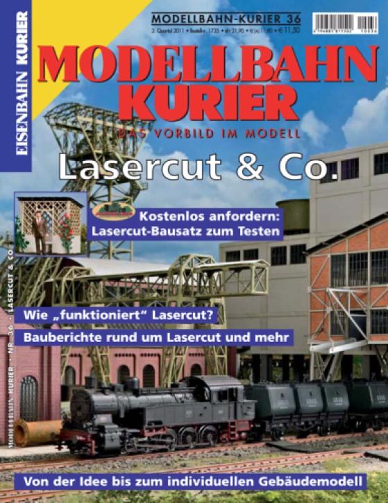 Modellbahn-Kurier 36: Lasercut & Co.