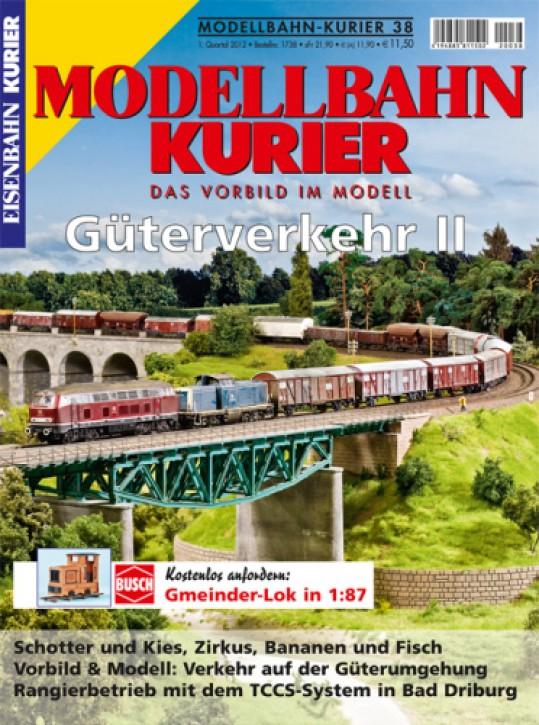Modellbahn-Kurier 38: Güterverkehr II