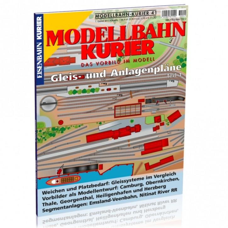 Modellbahn-Kurier 41: Gleis- und Anlagenpläne Teil 1