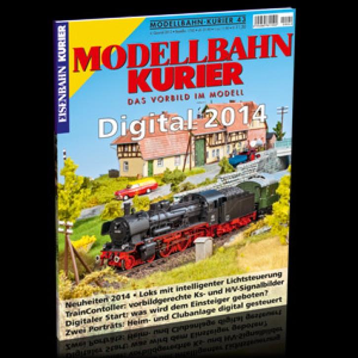 Modellbahn-Kurier 43: Digital 2014