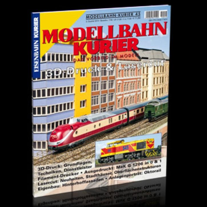Modellbahn-Kurier 45: 3D-Druck & Lasercut