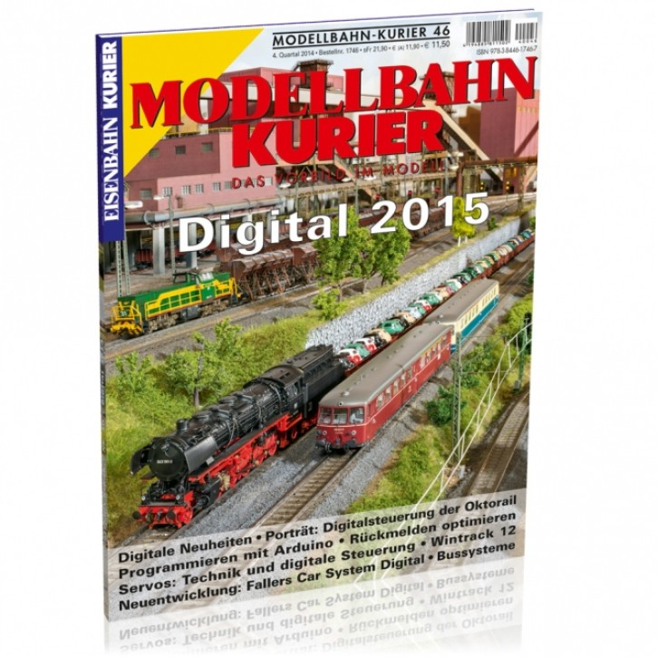Modellbahn-Kurier 46: Digital 2015