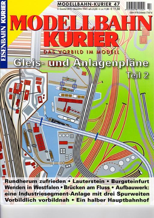 Modellbahn-Kurier 47: Gleis- und Anlagenpläne Teil 2