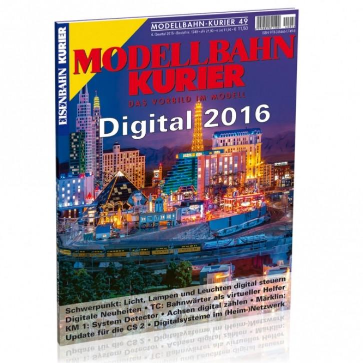 Modellbahn-Kurier 49: Digital 2016