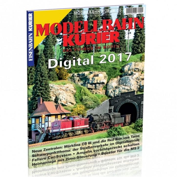 Modellbahn-Kurier 50: Digital 2017