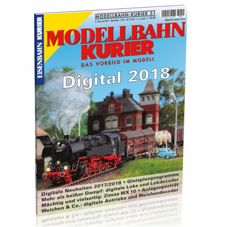 Modellbahn-Kurier 51: Digital 2018