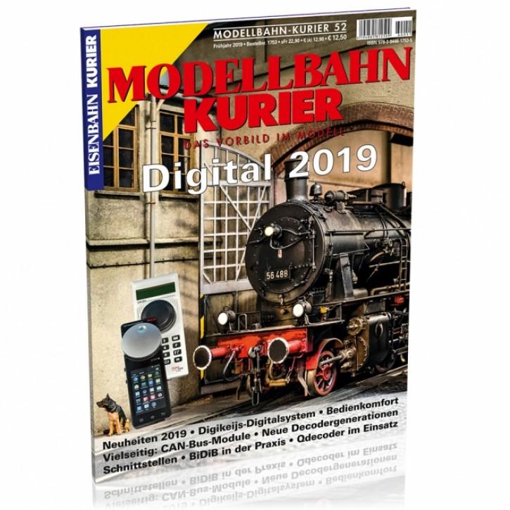 Modellbahn-Kurier 52: Digital 2019