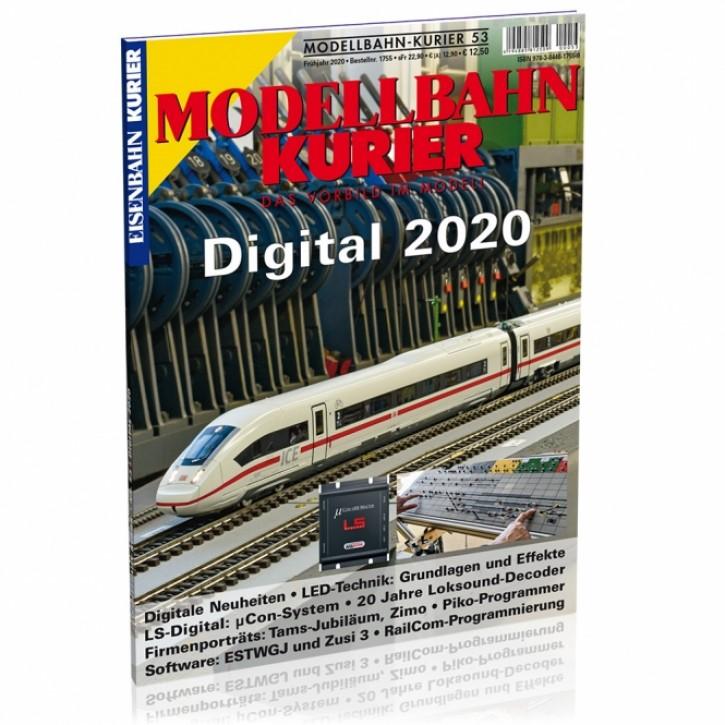 Modellbahn-Kurier 53: Digital 2020